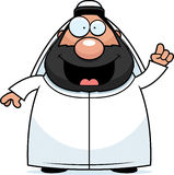 Karikatur Sheikh Idea Stockbild