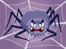 Karikatur-Spinne Stockfoto
