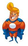 Karikatur-Superheld Stockfotografie