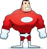 Karikatur-Superheld Stockbild