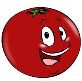 Karikatur-Tomate Stockfoto