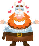 Karikatur Viking Hug Lizenzfreie Stockfotografie