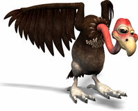 Karikatur-Vogel Lizenzfreies Stockbild