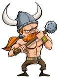 Karikatur Wikinger Lizenzfreies Stockfoto