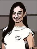 Karikaturbild und Kunst desain Stockbild