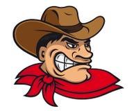 Karikaturcowboy Stockbild