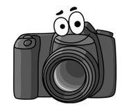Karikaturdigitalkamera stock abbildung