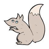 Karikatureichhörnchen Lizenzfreies Stockfoto