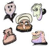 Karikaturgangster Lizenzfreies Stockfoto