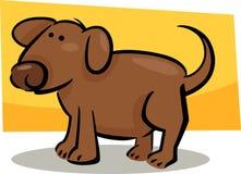 Karikaturgekritzel des Hundes Stockfoto
