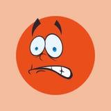 Karikaturgesichtsdesign Lizenzfreies Stockfoto
