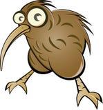 Karikaturkiwivogel Stockfoto