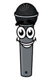 Karikaturmikrofon Stockfotografie