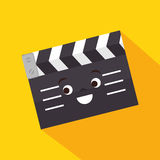 Karikaturscharnierventil-Filmdesign Stockfotos