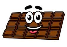 Karikaturschokolade Lizenzfreie Stockfotos