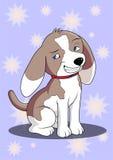 Karikaturspürhundhund Lizenzfreies Stockfoto