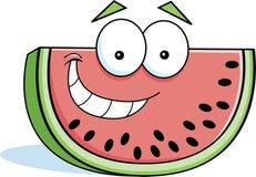 Karikaturwassermelone Stockfotografie