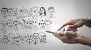 karikatyrer royaltyfria bilder