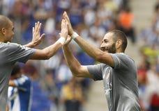 Karim Benzama de Real Madrid Photos libres de droits