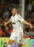Karim Benzema de Real Madrid Images libres de droits