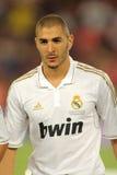 Karim Benzema de Real Madrid Image stock