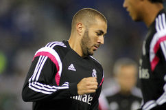 Karim Benzema de Real Madrid Photographie stock