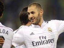Karim Benzema de Real Madrid Fotografía de archivo