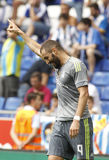 Karim Benzema de Real Madrid Photos libres de droits