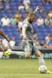 Karim Benzema de Real Madrid Imagen de archivo libre de regalías