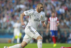 KARIM BENZEMA Royalty Free Stock Photo