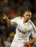 Karim Benzema of Real Madrid Stock Images