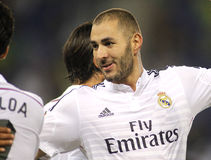 Karim Benzema of Real Madrid Stock Photography