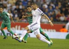 Karim Benzema of Real Madrid Royalty Free Stock Photos