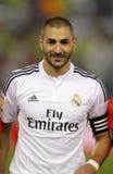 Karim Benzema of Real Madrid Royalty Free Stock Image