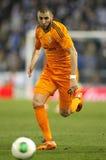 Karim Benzema of Real Madrid Royalty Free Stock Photo