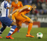 Karim Benzema of Real Madrid Stock Photo