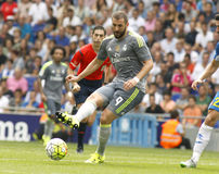 Karim Benzema of Real Madrid Stock Images