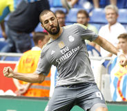 Karim Benzema of Real Madrid royalty free stock photos