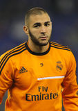 Karim Benzema of Real Madrid Stock Photos