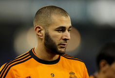 Karim Benzema of Real Madrid Royalty Free Stock Photography