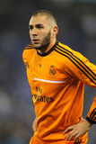 Karim Benzema of Real Madrid Royalty Free Stock Photo
