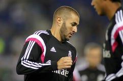 Karim Benzema van Real Madrid Stock Fotografie