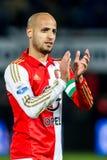 Karim El Ahmadi av Feyenoord Rotterdam Royaltyfri Fotografi