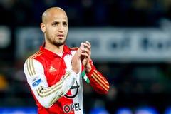 Karim El Ahmadi de Feyenoord Imágenes de archivo libres de regalías