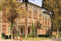 Karim Khani Nook. The Golestan Palace, Iran. The Golestan Palace is the former royal Qajar complex in Iran's capital city, Tehran.  Karim Khani Nook (Khalvat e Royalty Free Stock Photo