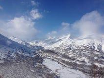 Karimshinarivier - Kamchatka Stock Foto
