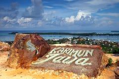 Karimunjava Island Hilltop Royalty Free Stock Images