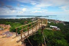Karimunjava Island Hilltop Royalty Free Stock Image