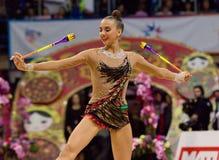 Karina Kuznetsova, clubs. Russia Stock Photo