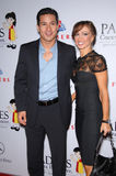 Karina Smirnoff, Mario Lopez Royalty Free Stock Photo